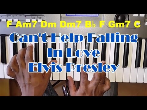 How To Play Can't Help Falling In Love By Elvis Presley - Piano Tutorial - Chords
