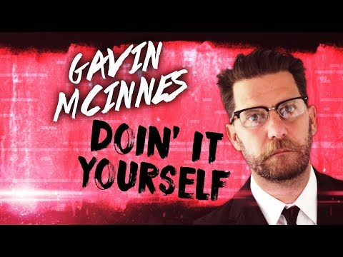"""Gavin McInnes: """"DIY"""" projects are better than video games"""