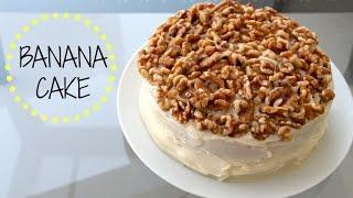 BANANA CAKE WITH WALNUTS! Thumbnail