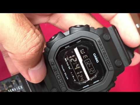 G-SHOCK GX56 NS50 Limited Edition Fake Review Waterresist Test