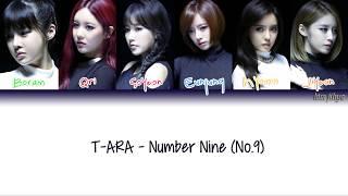 T-ara (티아라) – NO. 9 (넘버나인) Lyrics (Han|Rom|Eng|Color Coded) #TBS