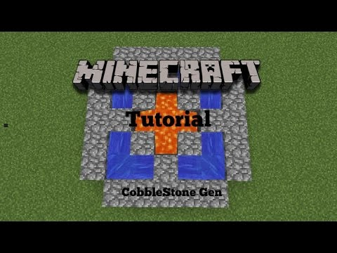 how to make a cobble generator