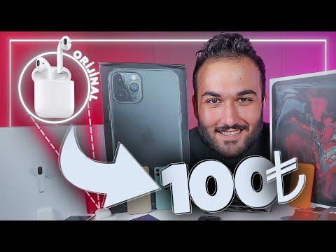 100 LİRAYA ORJİNAL AIRPODS ALDIM!