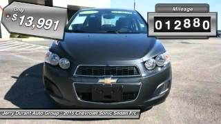 2015 Chevrolet Sonic Weatherford TX QF4204373 Video