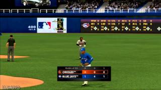 MLB 2K13 gameplay BAL vs TOR