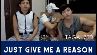 Arron Cadawas: Just give me a reason (Tagalog Version) cover