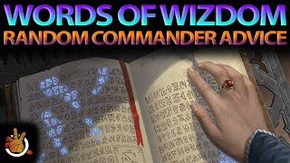 Words of Wizdom | The Command Zone #186 | Magic: the Gathering Commander/EDH Podcast