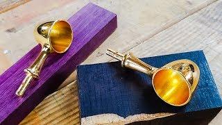 Woodturning Coffee Scoop Handles