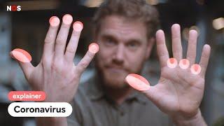 Corona in Nederland: zo was je je handen virusvrij