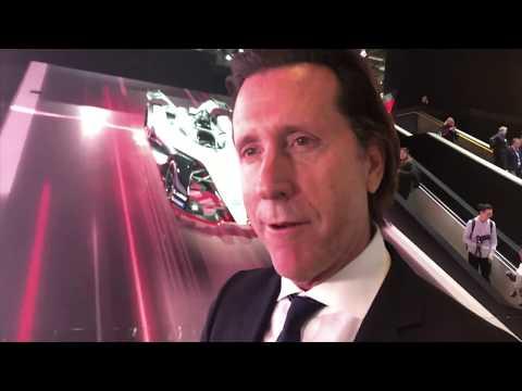 Nissan Formula E in Geneva - Alfonso Albaisa