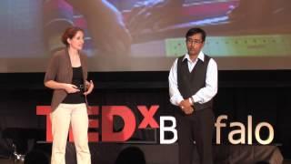 The New American Dream: Bryana DiFonzo & Bishnu Prasad Adhikari at TEDxBuffalo