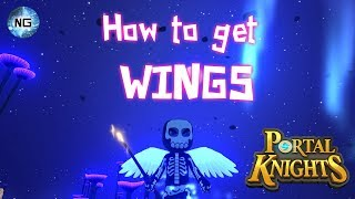 Portal Knights - How to get the wing