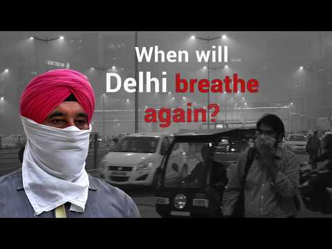 Delhi Smog is the annual affliction citizens are forced to live with
