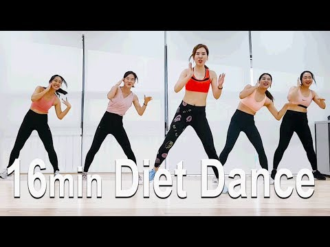 16 minute Dance Workout. cardio. Choreo by Sunny. SunnyFunnyFitness. Diet Dance. 홈트. 다이어트. 댄스다이어트. thumbnail