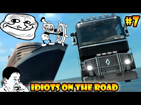 ★ IDIOTS On The Road #7 - ETS2MP | Funny Moments - Euro Truck Simulator 2 Multiplayer