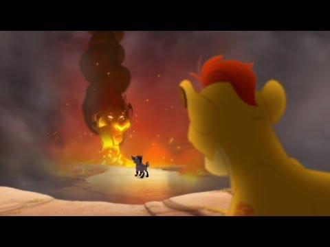 Lion Guard: KION SEES SCAR | Divide & Conquer Clip