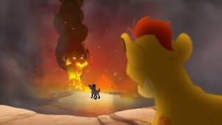 Lion Guard KION SEES SCAR  Divide  Conquer Clip