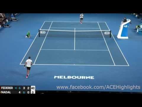 Р. Федерер Vs Р. Надаль   Australian Open 2017