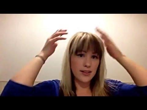 Brown Halo Under Bleach Blonde Hair Diy Youtube