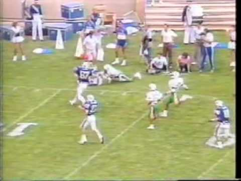 1986 Air Force Falcon Football, Hawaii 1st Half (Part 1)