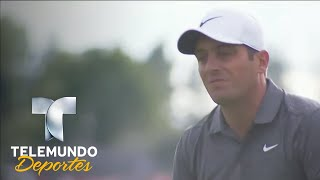 Tiger Wood deja como único líder a Molinari | Telemundo Deportes | Telemundo Deportes
