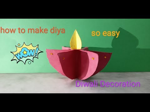 How to make Paper DIYA  (easy🙀🙀  :) DIY TUBE