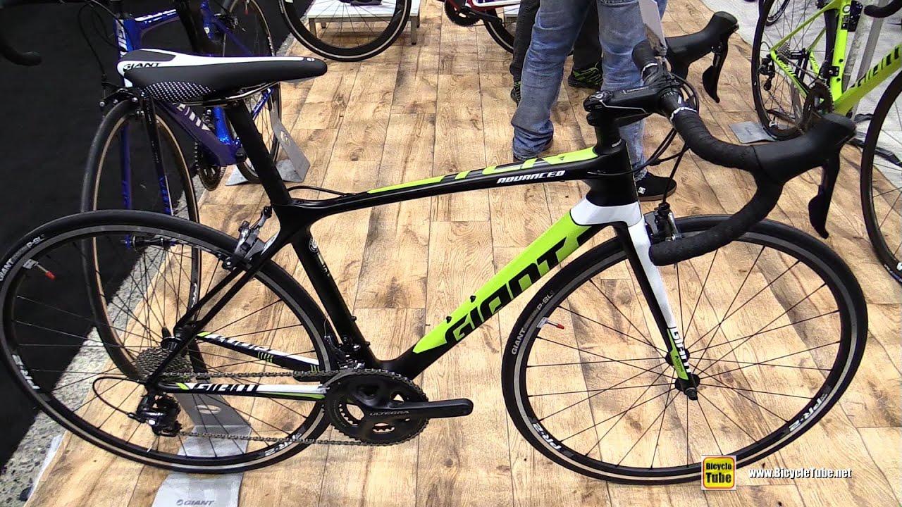 2016 Giant Tcr Advanced 1 Road Bike Walkaround 2016 Salon Velo