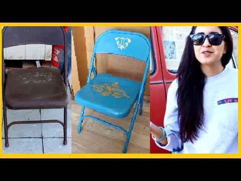 DIY: How to Revamp/ Transform Foldable Chair DamaV425