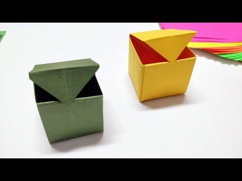 Origami Gatefold Box Tutorial V2 - DIY - Paper Kawaii - YouTube | 360x480