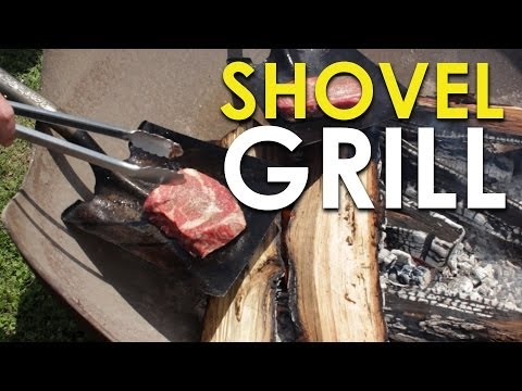 How to Cook Steak on a Shovel | The Art of Manliness