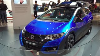 Honda Civic Tourer Active Life Concept 2016 Videos