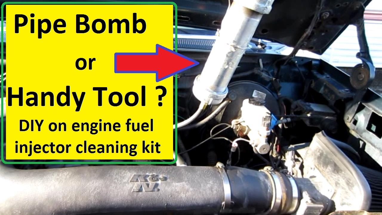 On Car Fuel Injector Cleaning Youtube