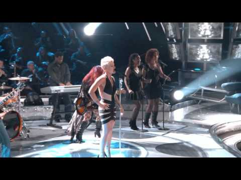 Pink - Who Knew (Live on American Idol)