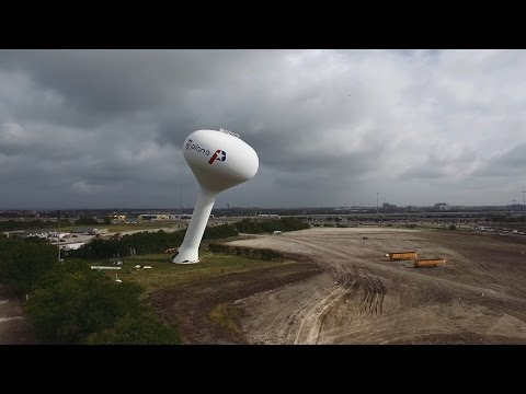 Plano Water Tower Demolition