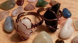 Late Night Wire Wrap - Rings Edition