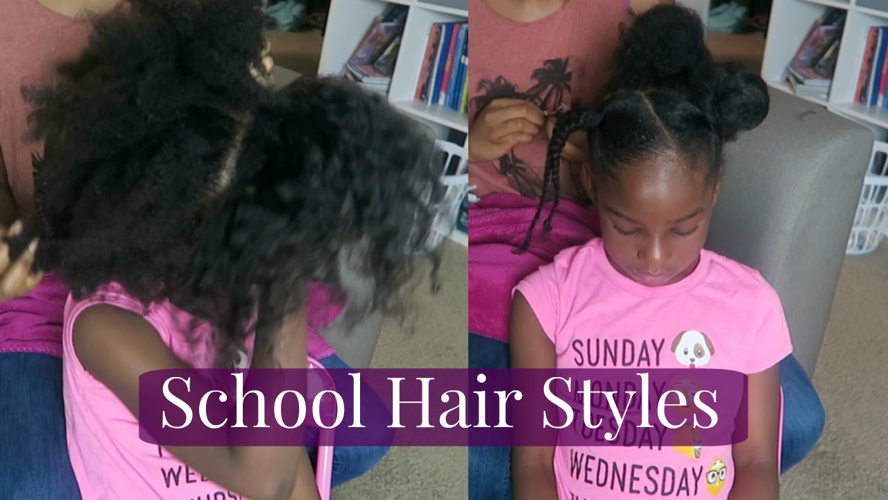 Natural Kids Back To School Hair Styles How To 4c Episode