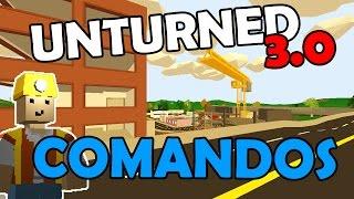 Unturned 3.0 - Comandos!