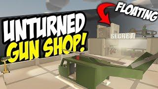 SECRET SKY SHOP - Unturned Gun Store   Shop Roleplay!