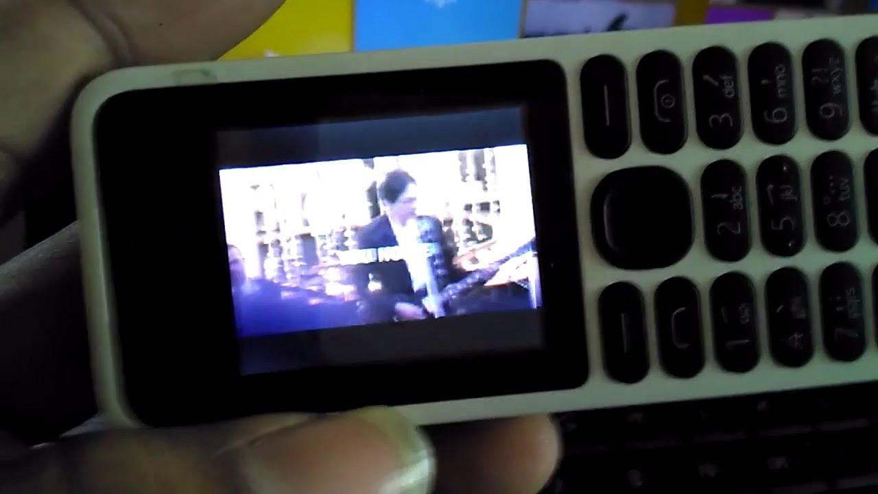 Nokia 130 Playing Video Mp4 Youtube Kamera New