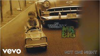 Mr. Big - Not One Night (audio)