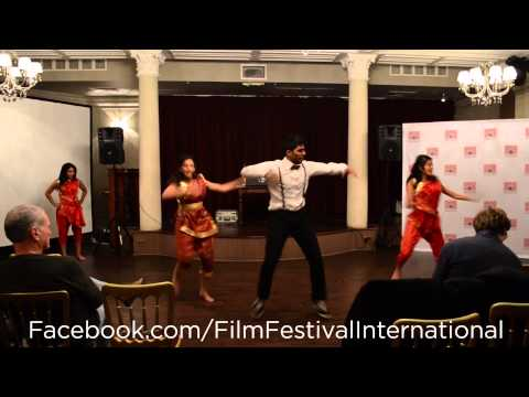 Gaana Rajas Dance Performance at London International Film Festival 2013