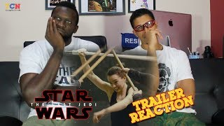 Star Wars   The Last Jedi Behind The Scenes REACTION