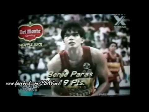 Benjie Paras-Tower Of Power PBA Highlights