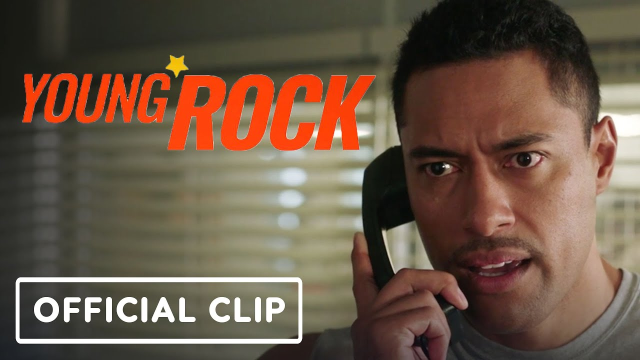 """Young Rock - Official """"Football"""" Clip (2021)"""