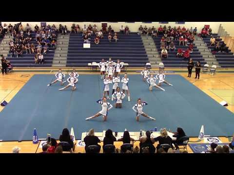 New Kent High School at Bay Rivers District Cheer Competition 2018