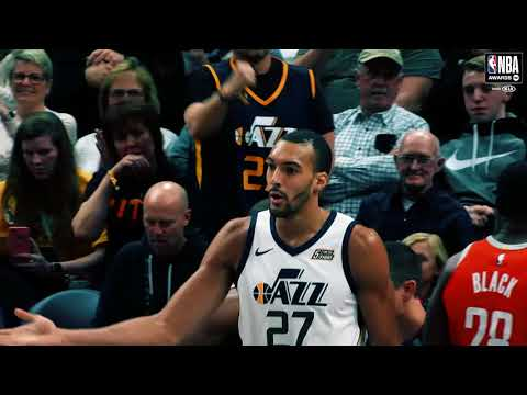 Rudy Gobert | Kia Defensive Player of the Year Nominee | 2018 NBA Awards