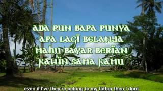 JIMMY PALIKAT - ANAK KAMPUNG (karaoke) Lirik