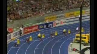 Usain Bolt of Jamaica : New World Record 200m 19.19