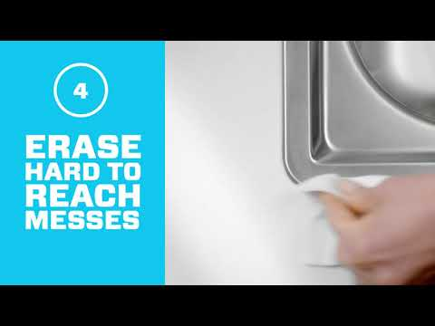 Magic Eraser Sheets - How To Clean Kitchen Counters | Mr. Clean®