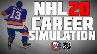 NHL 20 MAT BARZAL FULL CAREER SIMULATION